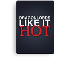 Dragon Lord Poster 3 Canvas Print