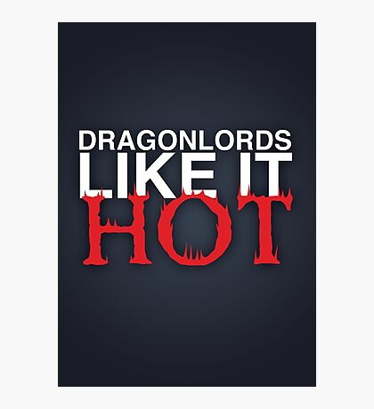 Dragon Lord Poster 3 Photographic Print