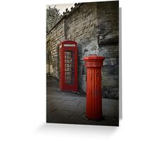 Two Red Classics Greeting Card