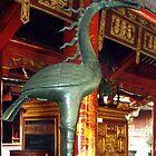 Phoenix, Temple of Literature, Hanoi, Vietnam by Jane McDougall