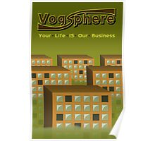 Vogsphere TRAVEL POSTER Poster
