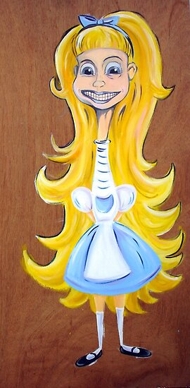 Alice in Wunderland by Xavier  Lopez