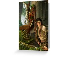 Wood Elves Greeting Card
