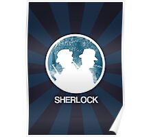 Sherlock Round Victorian Poster Poster