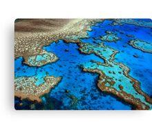 Hardy Reef Lagoon Canvas Print