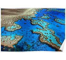 Hardy Reef Lagoon Poster