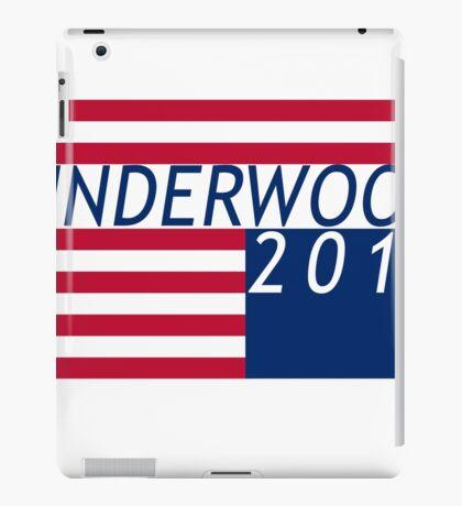 underwood iPad Case/Skin