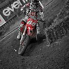 Brad Anderson UK Motocrosser by Nigel Jones