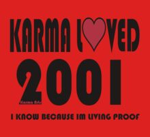 karma loved 2001 Kids Clothes