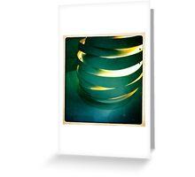 Hand Thrown Lamp Part 3 Greeting Card