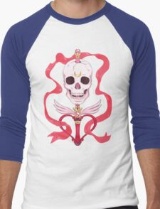 Moon Skull Men's Baseball ¾ T-Shirt