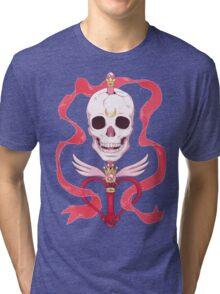 Moon Skull Tri-blend T-Shirt