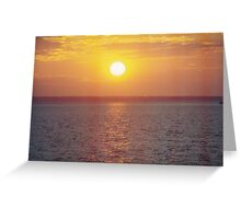 Mindil Beach Sunset Greeting Card