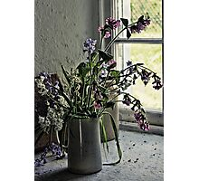 Vase of Wildflowers Photographic Print