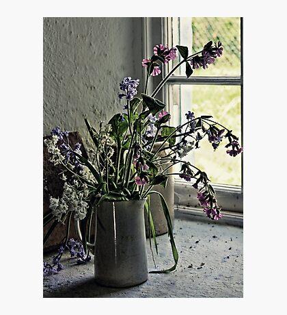 Vase of Wildflowers Photographic Print
