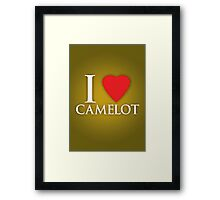 I Heart Camelot Framed Print