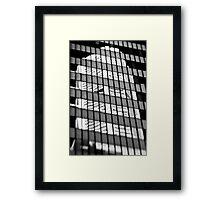 A Reflection on the MLC Building - Sydney - Australia Framed Print