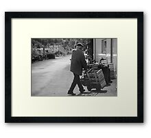cherry time Framed Print