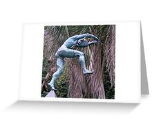 Marionet Dancer Greeting Card