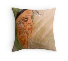 I Become A Sea Of Memories Throw Pillow