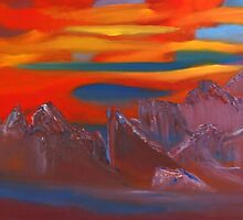 Rock Mountain Impression by David Snider