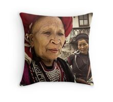 Red Dao Lady #0101 Throw Pillow