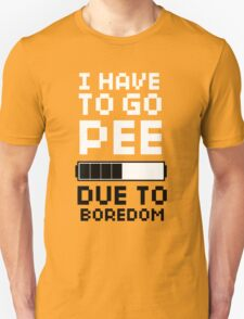 Scott Pilgrim | Pee Due To Boredom T-Shirt