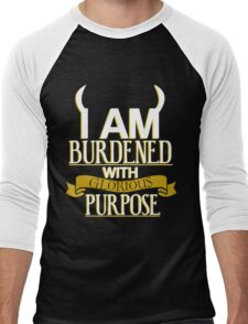 Glorious Purpose Men's Baseball ¾ T-Shirt