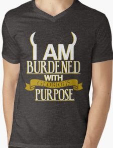 Glorious Purpose Mens V-Neck T-Shirt