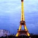 The Eiffel Tower by Ruth Smith