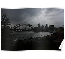 Sydney Brooding Poster
