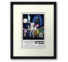 Adventure Wars - V2 Framed Print