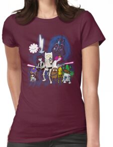 Adventure Wars - V2 Womens Fitted T-Shirt