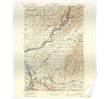USGS Topo Map Washington Wallula 244518 1918 125000 Poster