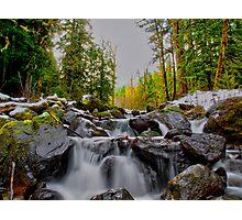 Just Let It Flow ~ Oregon Cascades ~ Photographic Print