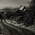 A black and white view of Ireland by Andrew Jones