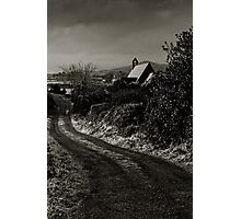 Wesk Cork Church on a Winter's Evening, County Cork, Ireland Photographic Print