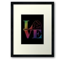 Vinyl Love 45 Framed Print