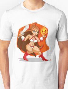 Flames of Fury (Golden Axe) Unisex T-Shirt