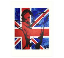 nudey kate moss Art Print
