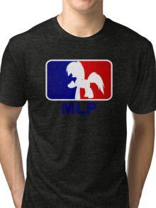 Major League Pony (MLP) - Rainbow Dash Tri-blend T-Shirt