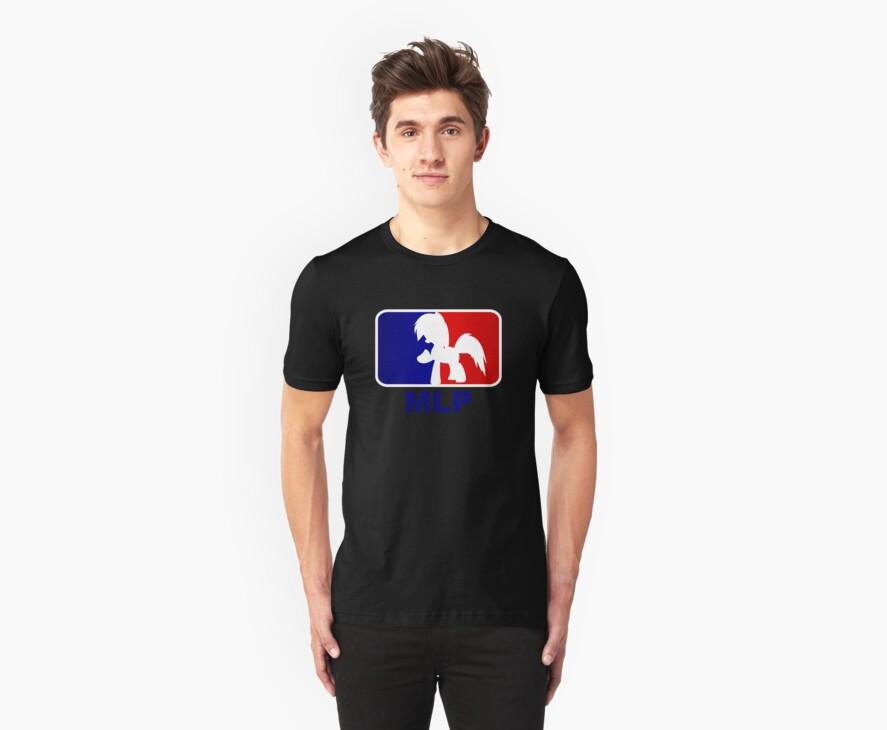 Major League Pony (MLP) - Rainbow Dash by phyrjc2