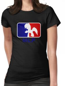 Major League Pony (MLP) - Rainbow Dash Womens Fitted T-Shirt