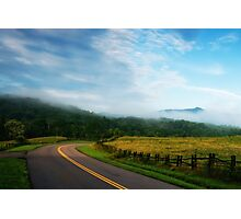 Blue Ridge Parkway Photographic Print