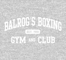 BALROG'S BOXING GYM Kids Clothes