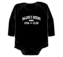 BALROG'S BOXING GYM One Piece - Long Sleeve