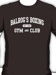 BALROG'S BOXING GYM T-Shirt