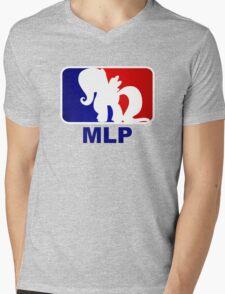 Major League Pony (MLP) - Fluttershy Mens V-Neck T-Shirt