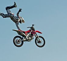 Stunt Rider #1 by cameraimagery
