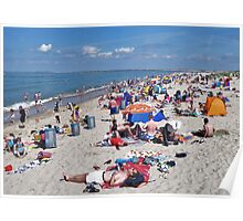 Summer at Renesse Beach Poster